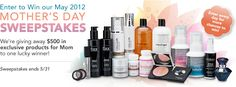 Enter for a chance to win 500 dollars Mother's Day Sweepstakes