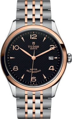 Brand New Unisex Tudor 1926 Automatic Watch For Sale with a Black Dial and Rose Gold Bezel - Lowest Price Online - Guaranteed Authentic Latest Watches, Big Watches, Gents Watches, Best Watches For Men, Stylish Watches, Casual Watches, Sport Watches, Rolex Watches, Tudor Watch Men