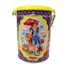 Cotton Candy Tea Tin, 10€, now featured on Fab.