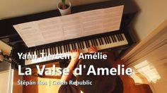 Amélie Poulain - La valse d'Amélie | Yann Tiersen | piano cover | 4K UHD