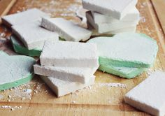 Homemade marshmallows - A beautiful mess