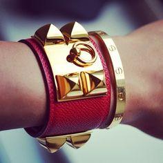 Hermes                                                                          Cartier                                                                 <3