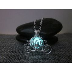 Cinderella necklace,Halloween necklace,Pumpkin Carriage,Glow in the... ($20) ❤ liked on Polyvore featuring jewelry, necklaces, glow in the dark jewelry, pendant chain necklace, glow in the dark necklace, chain jewelry and pendants & necklaces