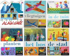 alain gree dutch books from the 60s by krista., via Flickr