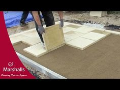 How to Install Concrete Flag/Block Paving Flexibly | Commercial Paving…