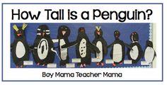 Teacher Mama: How Tall is a Penguin?