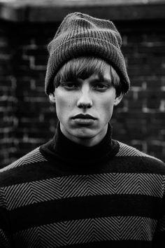 "strangeforeignbeauty: "" Sebastian Solkaer | Photographed by Marco Van Rijt """