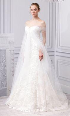 Veja as propostas de Oscar de la Renta e Monique Lhuillier na semana de moda das noivas em NY