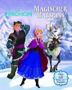 Die Eiskönigin - Magischer Malspaß von Walt Disney