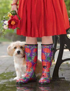Gardener's Wellies - fun footwear at gardeners.com