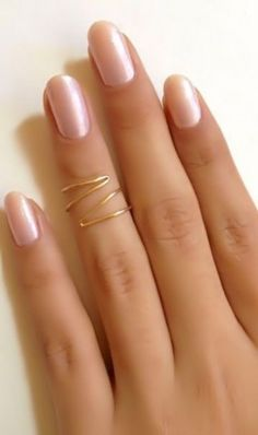 Knuckle ring zig zag