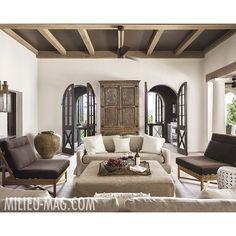 These doors are fabulous! Patti Woods + architects Jeremy Corkern & Paul Bates