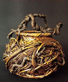 20th Century Japanese Bamboo Basket  http://www.thesupplemental.com