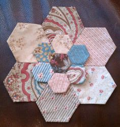 Dimensional hexies..... love