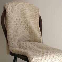 aran blanket