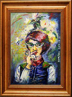 Portrait Acrylic Painting