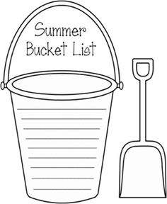 Write your own summer bucket list with this fun printable!