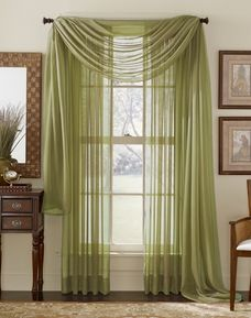 Awesome Light Green Valances