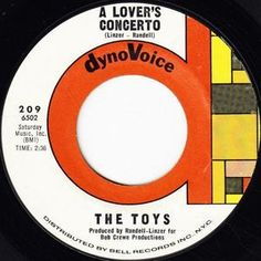"""The Toys - """"A Lover's Concerto."""" Read their story: http://popdose.com/soul-serenade-the-toys-a-lovers-concerto/"""
