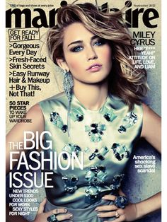 Miley Cyrus: Natural Born Thriller - September 2012 issue!!!