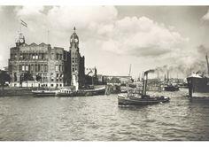 Ingang Rijnhaven 1930 (© Gemeentearchief Rotterdam)