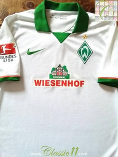 2014 15 Werder Bremen 3rd Bundesliga Football Shirt (M) 112c74320f4bc
