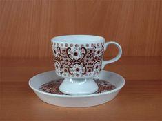 Arabia Ali kahvikuppi, ruskea