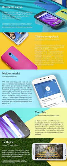 Chegou o Smartphone Motorola Moto G 3ª Geração XT1544. O lançamento mais aguardado do ano apresenta o consagrado Moto G com recursos aprimorados. Confere lá no nosso site: www.colombo.com.br