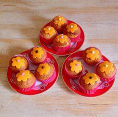 La Gourmandise me va si bien ! muffins flowers