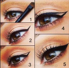 Makeup #wingedlinerlooks