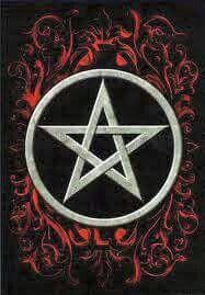 wiccan pentagram wallp...