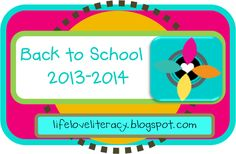 For some of us, it's time to get ready for back to school. (I start back in less than two weeks!!!!!). For others, we can enjoy a longer summer and peruse some great ideas to consider for our upcoming year. Check out this BOARD and this Back to School series for ideas that you might like, mostly for the upper elementary/middle grades classroom.