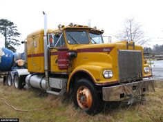 A 1974 clipper tractor. Massett, B.C., 2012-09-02 - Anonymous collection