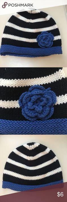 Joe Fresh Knit Flower Beanie Joe Fresh Knit Flower Beanie. Worn one time, EUC Joe Fresh Accessories Hats