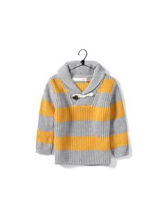 two tone striped sweater - Collection - Baby boy (3-36 months) - Kids - SALE - ZARA