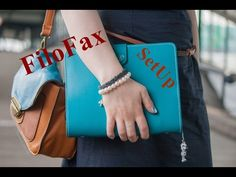 HannaLena90: Haushaltsplaner/FiloFax the Original Dark Aqua - SetUp