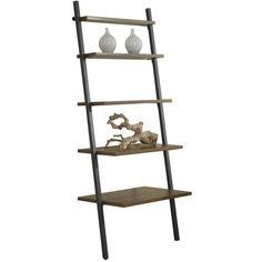Jesper Office Parson Five Tier Ladder Bookcase (1.625 NOK) ❤ liked on Polyvore