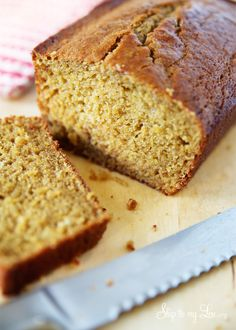 Homemade peach bread recipe #recipe skiptomylou.org