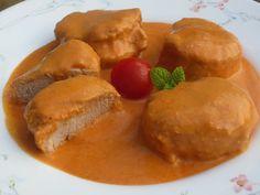 Solomillo en salsa de almendras Cocina tradicional
