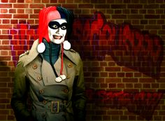 Harley Quinn going out on a night on Gotham...  Looks like fun.  For her...