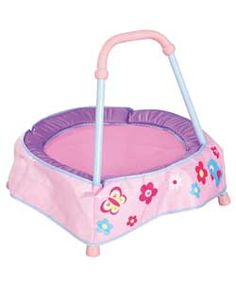 Buy Chad Valley Baby Trampoline - Pink at Argos.co.uk, visit Argos.co.uk to shop online for Pre-school toys, Limited stock Toys and games