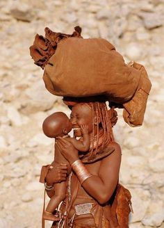 A beautiful mom and child!