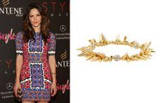 This bracelet is rockin'! Katharine McPhee wearing the Renegade Cluster Bracelet by Stella & Dot. Buy now for $59.