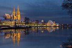 Regensburg im Winter. http://www.bayern.by/bilderbuchwinter