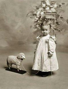 Marnee had a little lamb.... and a side of mashed potatoes.