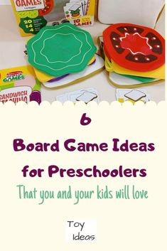 6 Educational Board Games for Preschoolers (that are also a lot of fun)! Preschool Board Games, Educational Board Games, Board Games For Kids, Educational Toys, Creative Activities For Kids, Kids Learning Activities, Different Games, Toddler Preschool, Kids Playing