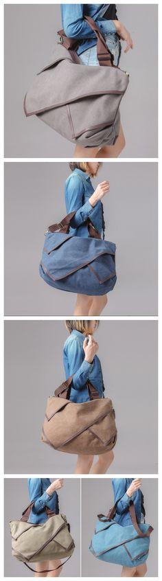 Fashion Women Canvas Tote Bag Large Travel Bag Shoulder Bag Crossbody Bag Messenger FB03