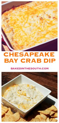 This Chesapeake Bay Crab Dip recipe was passed along to me from a local seafood restaurant and over the years I have added several ingredients. We are lucky to live close to the Chesapeake Bay and there is always fresh lump crab meat in the grocery stores Crab Dip Recipes, Seafood Recipes, Appetizer Recipes, Seafood Appetizers, Md Crab Dip Recipe, Lump Crab Meat Recipes, Warm Appetizers, Appetizer Dips, Dinner Recipes