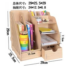 :) desk with drawers is made out paper box Cardboard Storage, Cardboard Crafts, Diy Storage, Cardboard Tubes, Cardboard Organizer, Drawer Storage, Storage Rack, Desk Organization Diy, Diy Desk