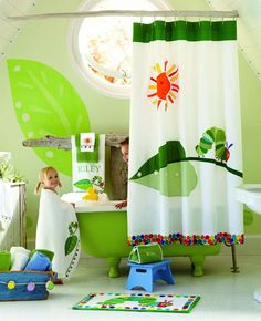 very hungry caterpillar bathroom